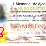 Diploma Torneo a capas 1 CLASIFICADO