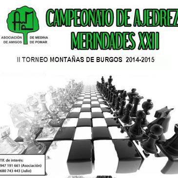 II Torneo de ajedrez Montañas de Burgos 2014-2015