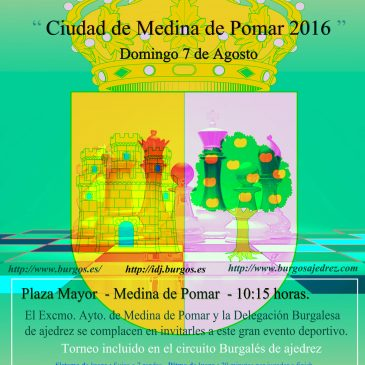 VII Open internacional de ajedrez Ciudad de Medina de Pomar
