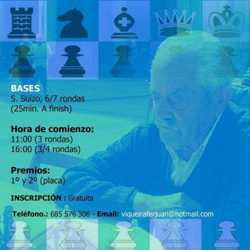 III Memorial Juan Manuel de Ajedrez activo- Bercedo 16-07-16