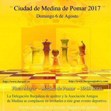 VIII Open internacional – Ciudad de Medina de Pomar  06-08-17