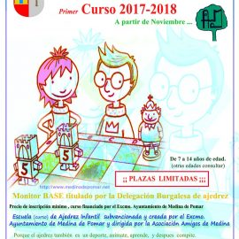 Escuela de Ajedrez Infantil de Medina de Pomar – Primer Curso 2017-2018