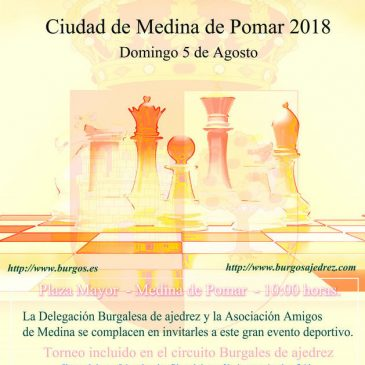 IX Open Internacional de Ajedrez Ciudad de Medina de Pomar 2018